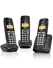 Gigaset A220A Trio Handset with Answering Machine (A220ATrio)