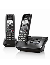Gigaset A420A Duo Twin Handset with Answering Machine (A420ADuo)