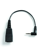 Jabra Cord - QD to 2.5mm 15cm Straight (8800-00-46)