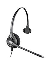 Plantronics SupraPlus Wideband Mono Headset MS OC Certified (81360-41)