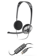 Plantronics Audio 476 DSP USB headset - foldable / portable (81962-01)