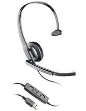 Plantronics Blackwire C210-M USB Headset Mono MS Certified (80298-02)