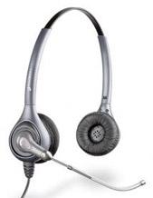 Plantronics D261 SupraPlus Binaural Corded Headset (69816-18)