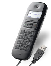 Plantronics P240 Calisto 240 USB Handset for softphones (Skype Cisco Avaya) (57240-001)