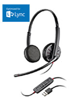 Plantronics Blackwire C325-M Binaural USB PC Headset (200263-01)