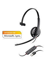 Plantronics Blackwire C310 Mono USB MS Refurbished (R85618-01)