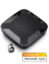 Plantronics Calisto P620-M Wireless USB Speakerphone with 360-degree mic BT Microsoft Lync Certified (86701-08)