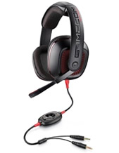 Plantronics GameCom 367 Headset with CLOSED-ear design noise-canceling microphone (79732-01)