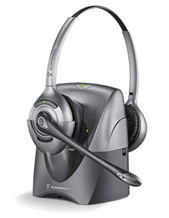 Plantronics CS361N DECT Wireless Headset SupraPlus Dual Earpiece (70550-02)