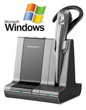 Plantronics WO101 Savi Office Wireless Headset System Microsoft Lync Certified (82203-04)