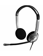 Sennheiser SH350 IP Over the Head  Binaural Wideband Headset (504014)