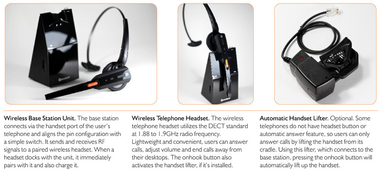 accutone WT99 wireless headsets