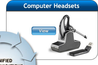 plantronics headsets unified communications USB Computer