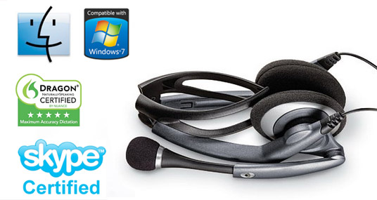 plantronics audio 400 dsp usb headset review for travel gaming foldable portable headset
