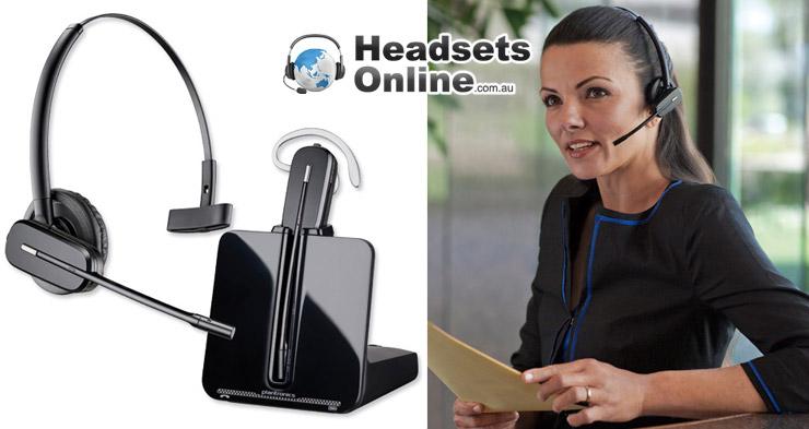 Business Phone Sets Handsets Plantronics Cs540 Wireless Headset Brand New Passionedu Vn
