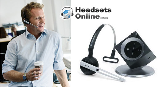 Sennheiser dw office wireless office headset review a clever stylish comfortable excellent - Office phone wireless headset ...